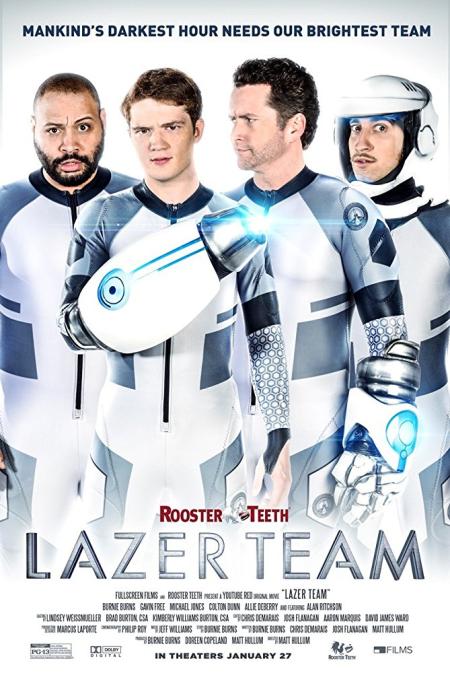 Lazer Team 2015