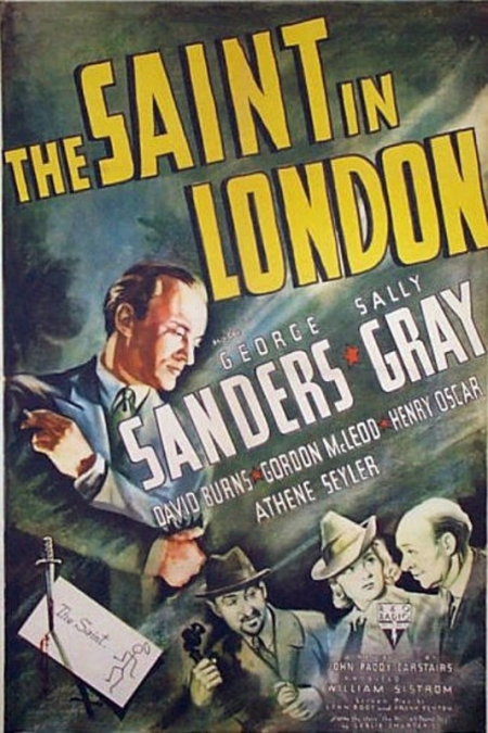 The saint in london 1939 d