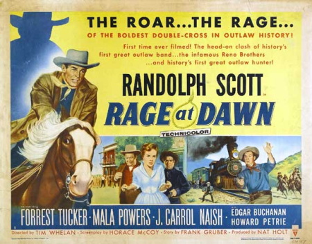 Rage at dawn 1955 a