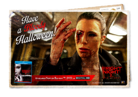 Fright night 2 new blood postcard