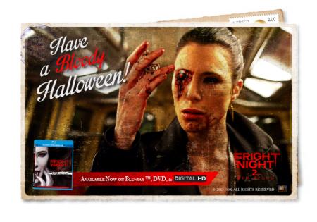 Fright night 2 new blood postcard
