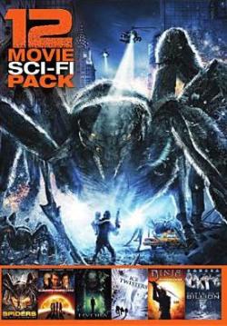 12 movie sci-fi pack