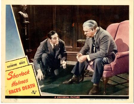 Sherlock Holmes Faces Death 1943 c