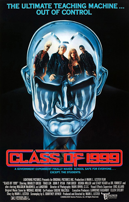 Class of 1999 1990 poster