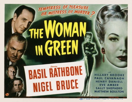 The Woman In Green 1945 e