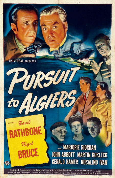 Pursuit To Algiers 1945 a