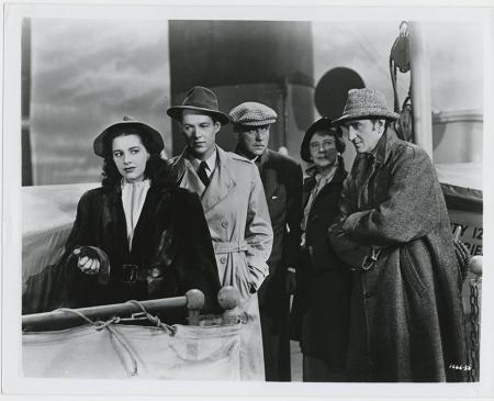 Pursuit To Algiers 1945 c