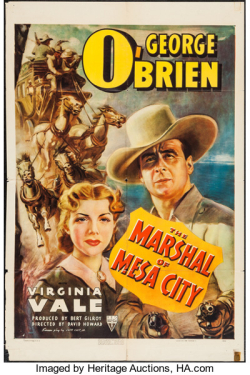 The marshal of mesa city 1939