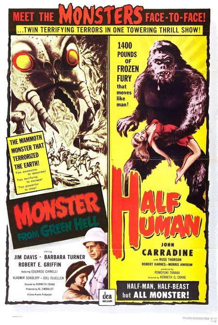 Half human poster-001