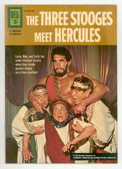 The Three Stooges Meet Hercules cast