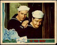 In the navy lobby