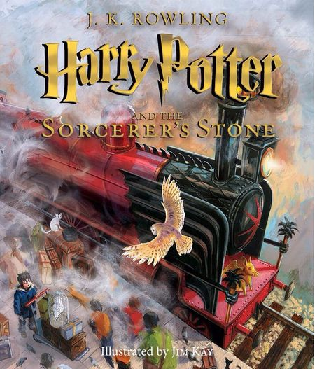 Harry Potter and the Sorcerer's Stone The Illustrated Edition book-001