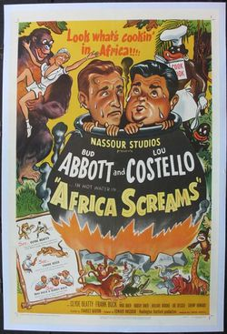 Africa screasm poster