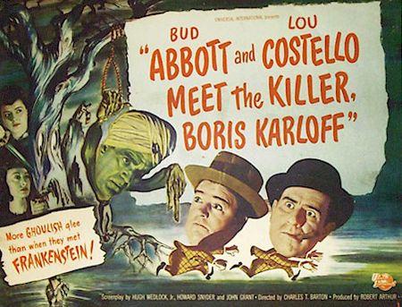 Abbott And Costello Meet The Killer Boris Karloff 1949 a