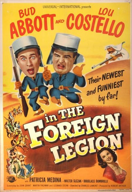 Abbott And Costello In The Foreign Legion 1950 b