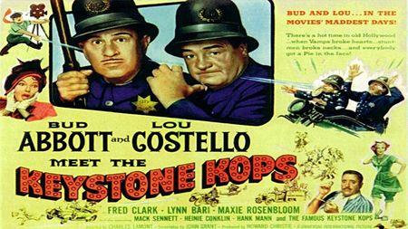 Abbott And Costello Meet The Keystone Kops 1955 a