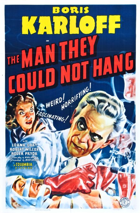 The man they could not hand poster