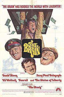 The brain Le Cerveau poster