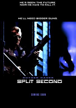 Split second 1992 poster
