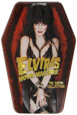 Elvira's coffin collection