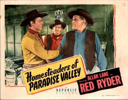 Homesteaders of paradise valley hor poster