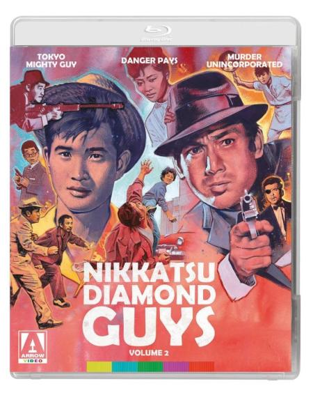 Nikkatsu Diamond Guys Vol 2 Cover