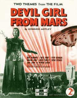 Devil gril from mars b