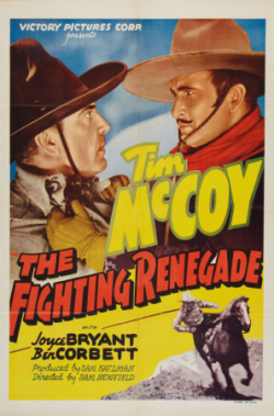 The fighting renegade poster