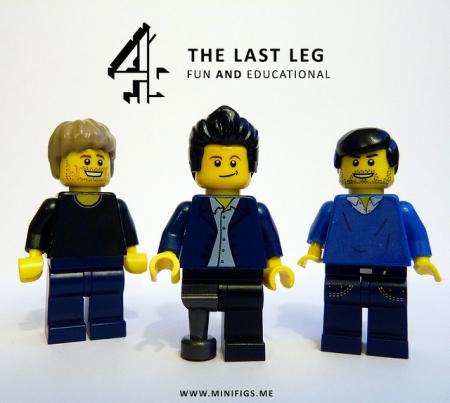 The last leg lego