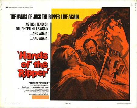 Hands of the ripper poster hor