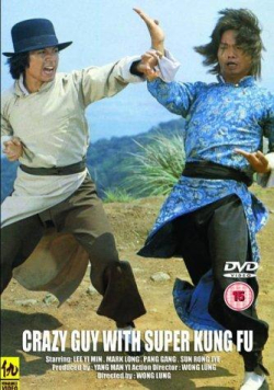 Crazy guy with super kung fu dvd