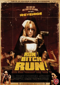 Run bitch run poster