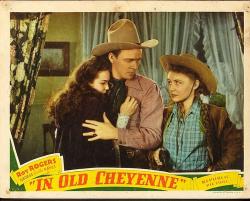 In Old Cheyenne 1941 b