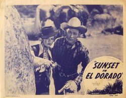 Sunset in El Dorado a