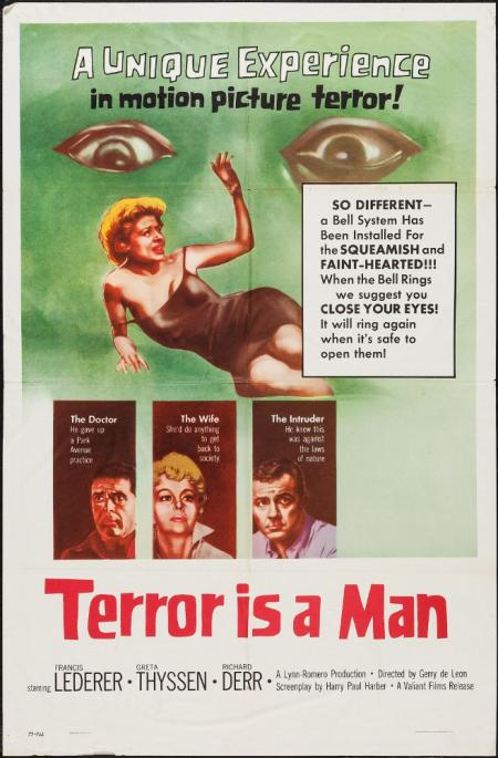 Terror is a man 1959