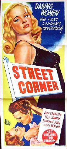 Street corner-Poster