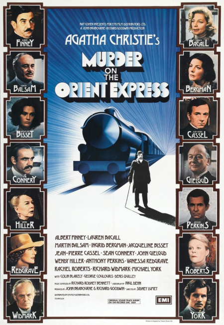 Murder on the orient express 1974 poster