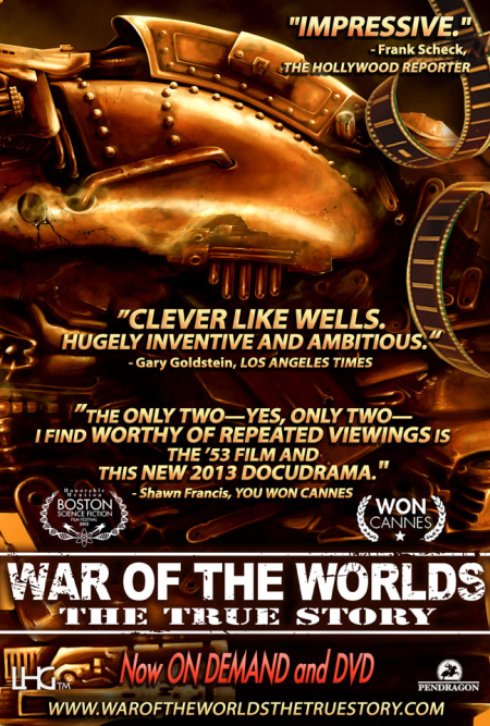 H. G. Wells' The War of the Worlds poster