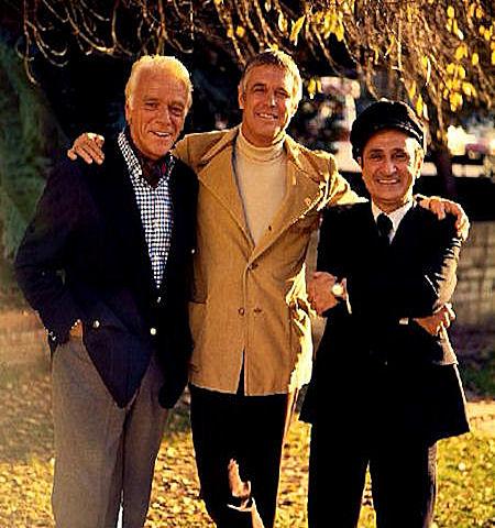Banacek Murray Matheson Ralph Manza and George Peppard