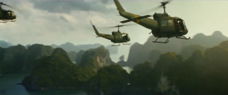 Kong skull island helicosters