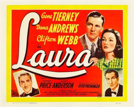 Laura 1944 brit card