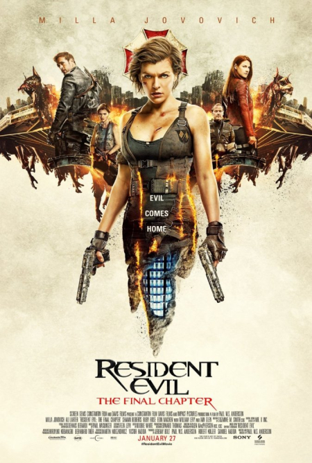 Resident Evil The Final Chapter a