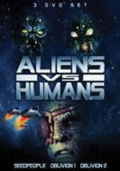 Aliens vs humans dvd set