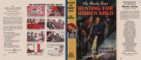 Hunting For Hidden Gold by Franklyn W Dixon a