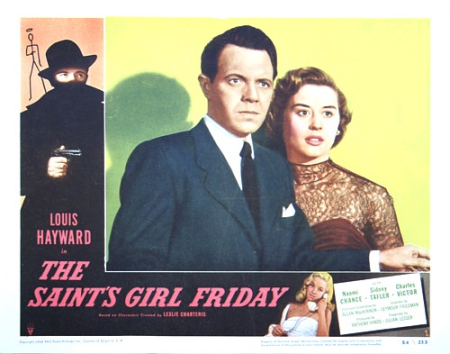The saint's girl friday 1953 lobby