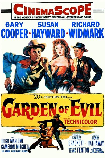 Garden of evil 1954 poster