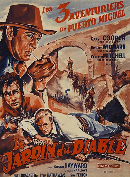 Garden of evil 1954 for poster
