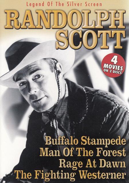 Randolph scott 4 movies