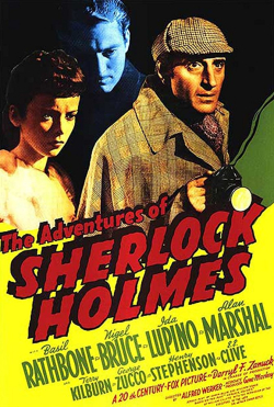 The Adventures OF Sherlock Holmes 1939 d