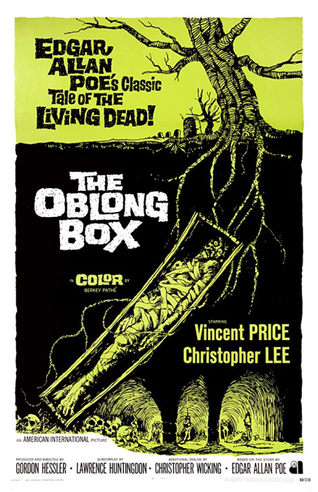 The oblong box 1969